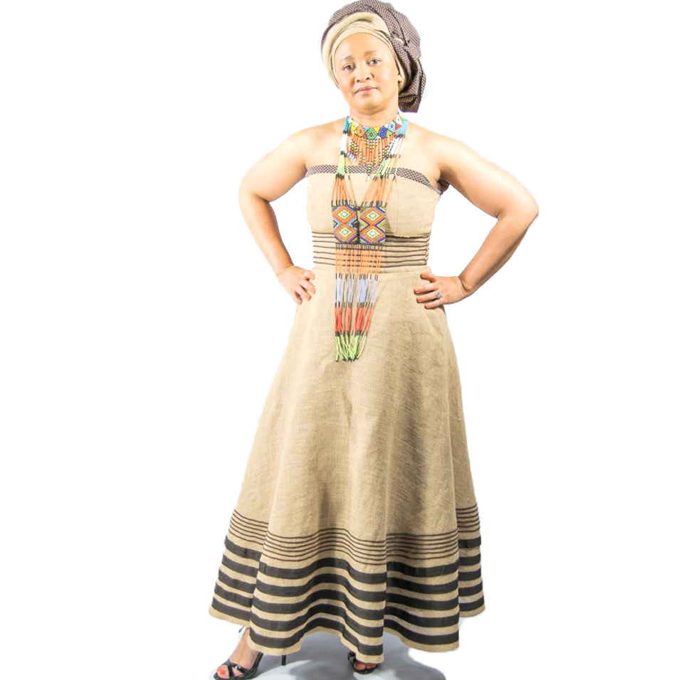 xhosa umbhaco sackcloth traditional dress  reka afrika